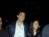 (Anand), Mark, Caz, (Anton)
