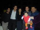 Anand, Mark, Caz, Anton, Alexander, Sammy, (Cathy)